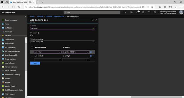 Load balancing and high availability using Azure Load Balancer