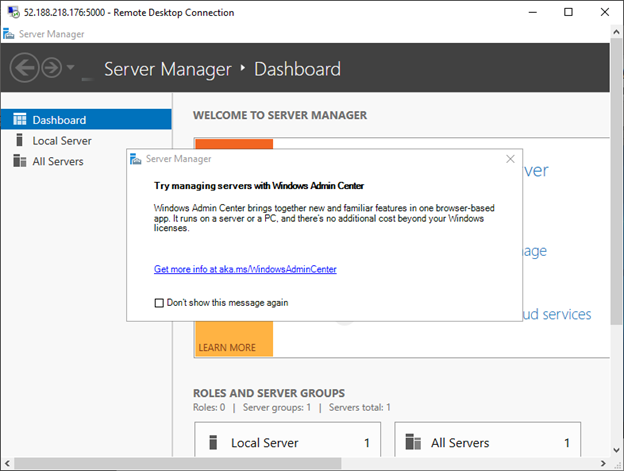 Load balancing and high availability using Azure Load
